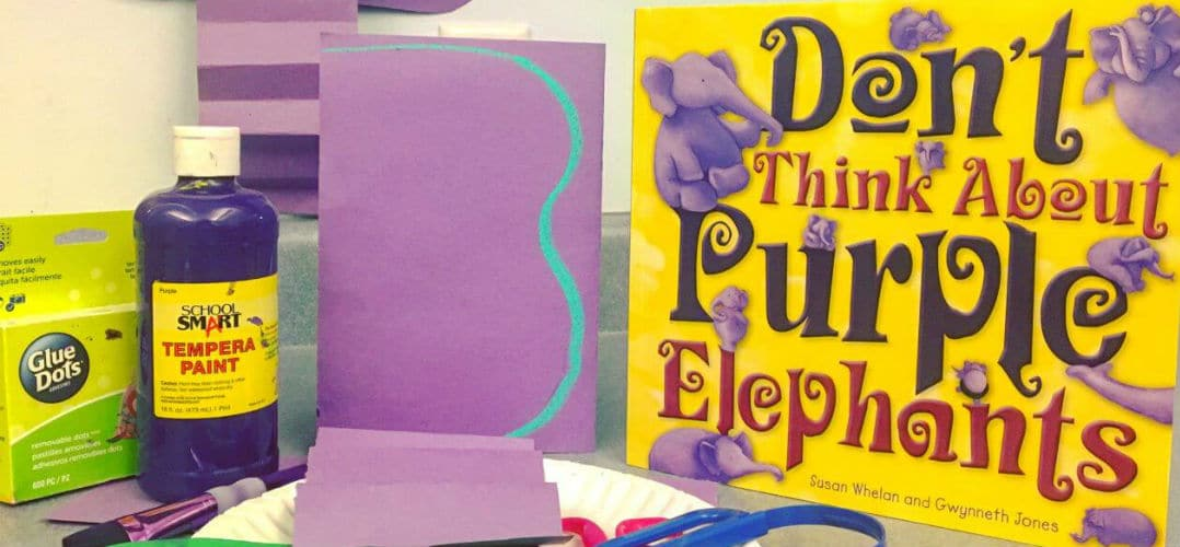 Enjoy our purple elephants